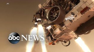 7 minutes of terror: The Perseverance rover's critical landing on Mars
