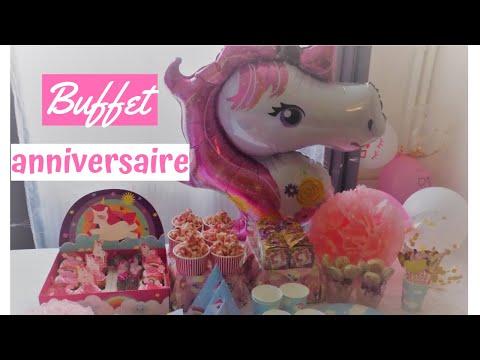 ✿-buffet-anniversaire-organisation-🥳-|-déco🎈-|recette🧁-les-délices-d'ines
