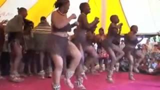 Traditional Botswana dance