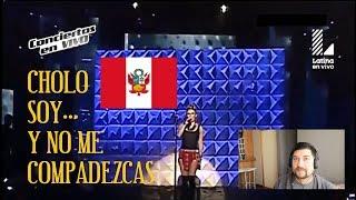 """CHILENO REACCIONANDO A """" CHOLO SOY """" - RUBY PALOMINO"""