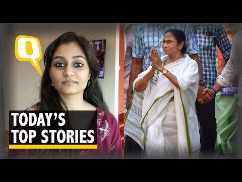 QWrap: Ishwar Chandra Vidyasagar Statue Vandalised; Alwar Rape Survivor Speaks | The Quint