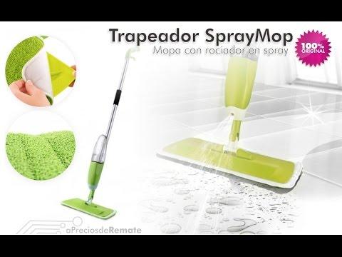 Mopa spray mop trapeador con rociador limpiador para pisos - Limpiador de errores gratis ...