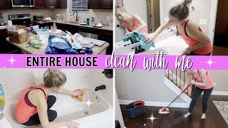 ENTIRE HOUSE CLEAN WITH ME 2018 | HOLIDAY SPEED CLEANING ROUTINE | CLEANING MOTIVATION