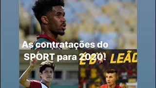As Contratações do SPORT para 2020 ate agora. E Diego Souza pode fazer acordo e ficar No Leão.