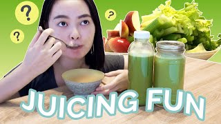 Juicing on a Budget –  Make Celery Juice & Ice Cream with Me ft. Comfee