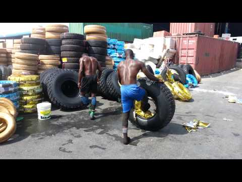 Nigeria working at dubai
