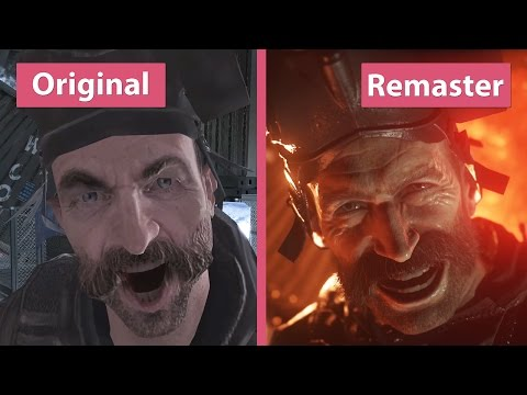 Call of Duty Modern Warfare – Original vs. Remastered Graphics Comparison