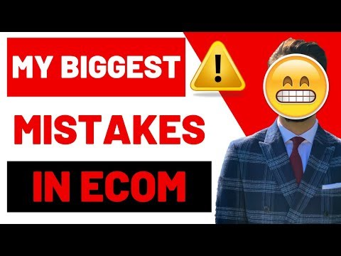 MY (30) Dropshipping MISTAKES 2019