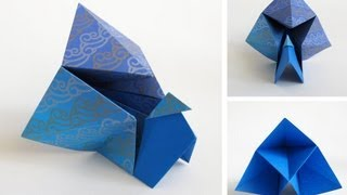 Origami Peacock --pavo Real