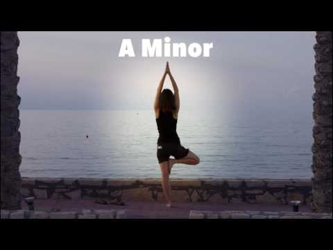 Emotional Ambient Yoga Music Backing Track (Am) - 15 Minutes