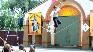ny ren faire dextre tripp wild crazy and stupid stunts