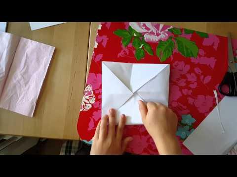 Hur man viker en pappers loppa