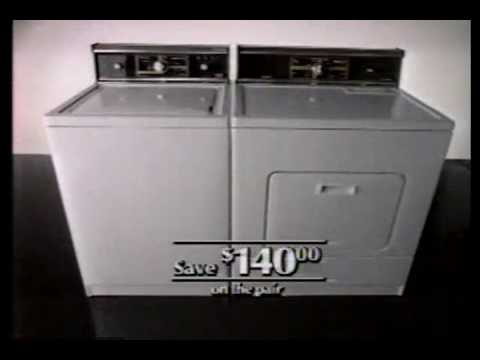 Kenmore Commercial Classic 1985 Youtube