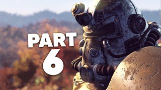 FALLOUT 76 WASTELANDERS Gameplay Walkthrough Part 6 - HELPING THE MAYOR