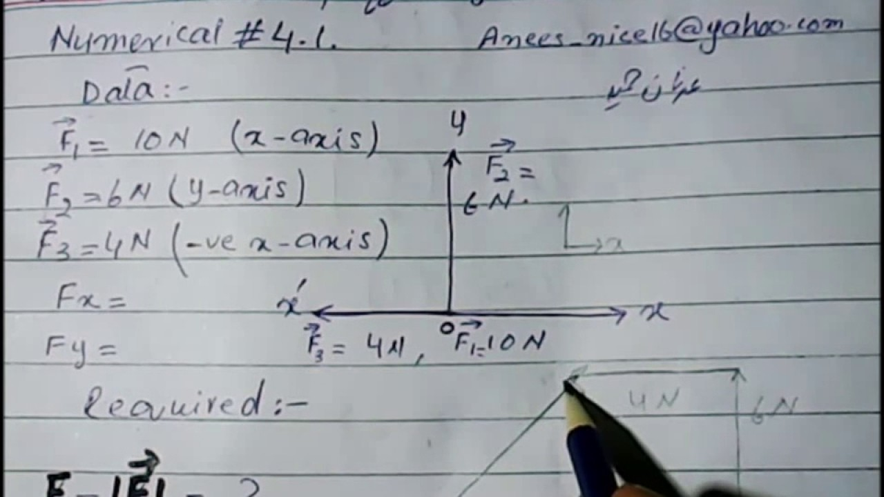 9th Physics Numerical No 4 1