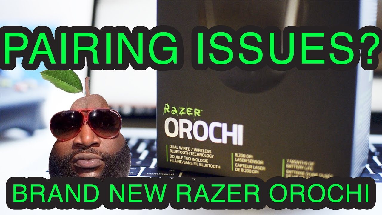 PROBLEMS WITH BRAND NEW RAZER OROCHI!? ON macOS