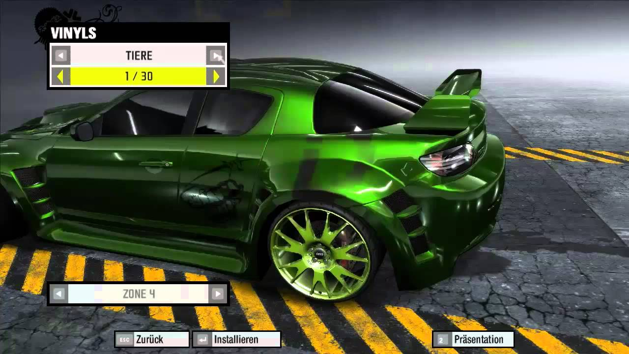 Need For Speed Pro Street Mazda Rx 8 Tuning Youtube