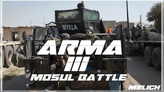 ARMA 3 : Iraqi SOF Clear Airport Road !!