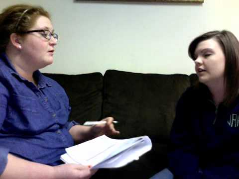 Example for Intake Interview (substance abuse counseling)