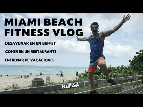 MIAMI BEACH FITNESS VLOG
