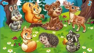 Развивающие мультфильмы для самых маленьких. Загадки про животных. В лесу.