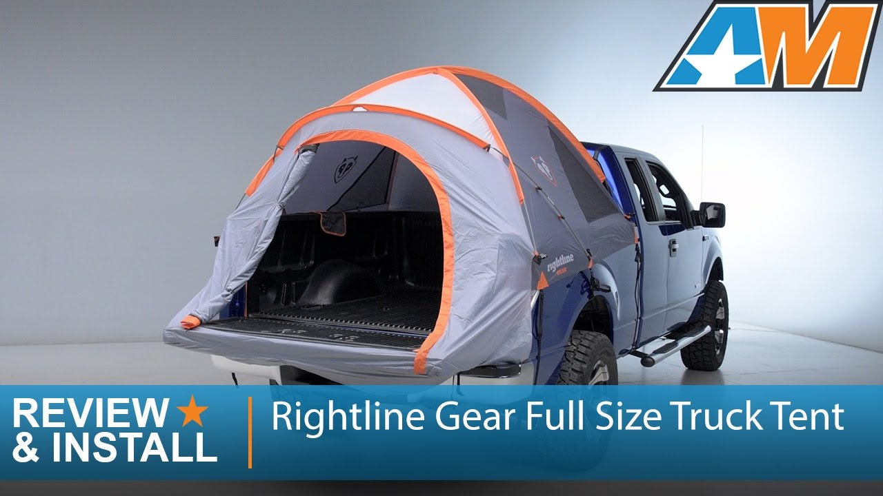 1997 2016 F 150 Rightline Gear Full Size Truck Tent Review Install Youtube