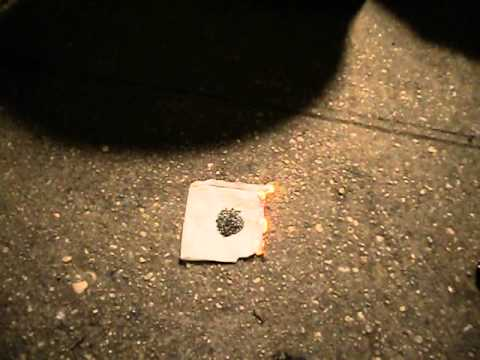 Black Powder Vs Smokeless Powder Burn Rate  Youtube