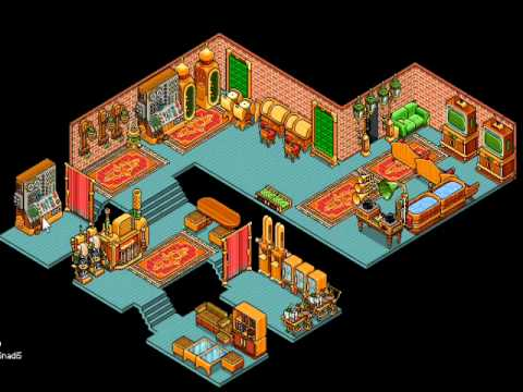 My Habbo HC Club room - YouTube