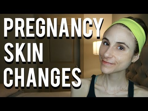 Skin changes during pregnancy| Dr Dray 👶