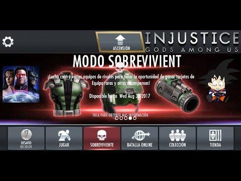 Injustice Android Survivor Mode / Modo Sobreviviente 5 LexCorp Gear Set Truco