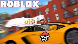 TRAVAIL À UNE PLACE PIZZA EN ROBLOX (HUGE UPDATE)