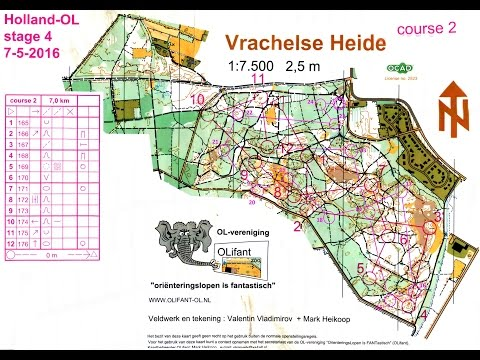 Holland-OL Orienteering stage 4 -  Vrachelse Heide - 7 May 2016