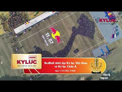 KylucRadio.vn| RedBull thiết lập Kỷ lục Việt Nam và Kỷ lục Châu Á 11/07/2020