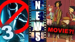 Tron 3 Ascension CANCELED, Lumberjanes movie at Fox! - Beyond The Trailer