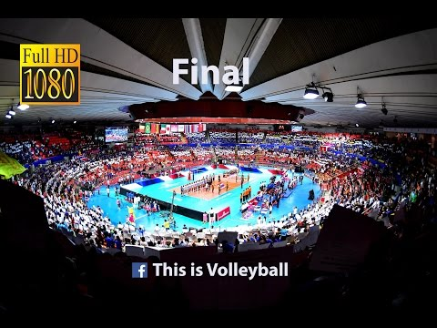 Serbia vs Brazil | 17 July 2016 | Final | 2016 FIVB Volleyball World League