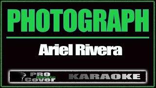 Photograph - ARIEL RIVERA (KARAOKE)