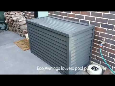 Pool Pump Cover
