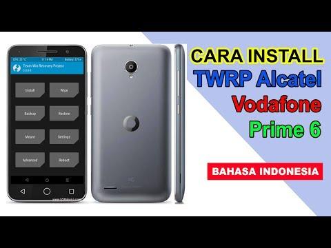 Install TWRP Alcatel Vodafone Smart Prime 6 INDONESIA !
