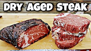 How to Dry Aġe Steak at Home | No Equipment Dry Aging