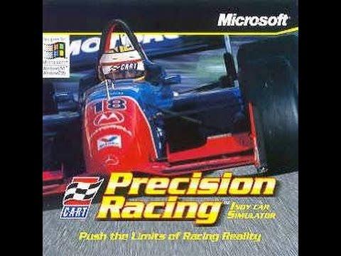 Microsoft CART Precision Racing (1997 - PC) Intro + Gameplay