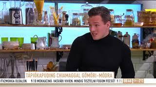 Tápiókapuding chiamaggal Gömöri András Máté-módra