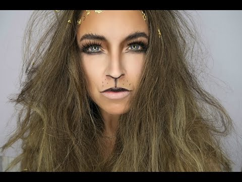 LION MAKEUP TUTORIAL | Halloween week| ROARRRRR