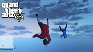 GTA 5 Online Next Gen Flying Glitch and Lui and Delirious