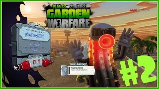 Растения против Зомби PS4 #2 Multiplayer Plants vs Zombies: Garden Warfare HD 1080p