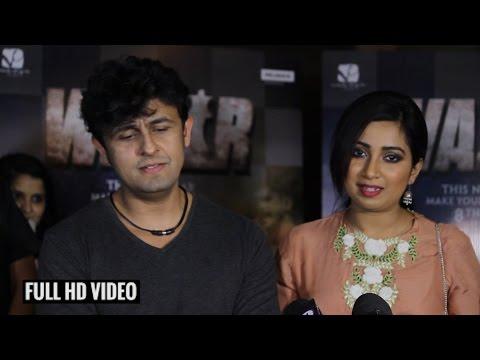 Tere Bin Song Live By Sonu Nigam & Shreya Ghoshal | Wazir Song Launch