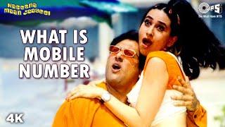 Download Lagu What Is Mobile Number | Karisma Kapoor | Govinda | Sonu N | Alka Y | Haseena Maan Jaayegi | 90s Song mp3
