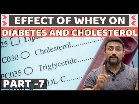 EFFECT OF WHEY ON DIABETES AND CHOLESTEROL