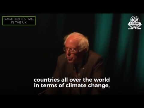 Bernie Sanders BRILLIANT takedown of Trump's Withdrawal from the Paris Climate Agreement [ New ]