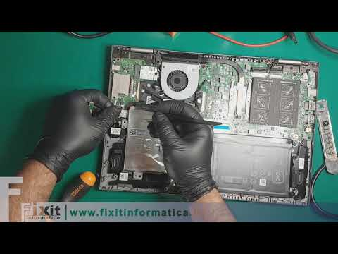 Dell Inspiron 13 5378 smontaggio e riparazione tasto di accensione. Disassembly and fix power button