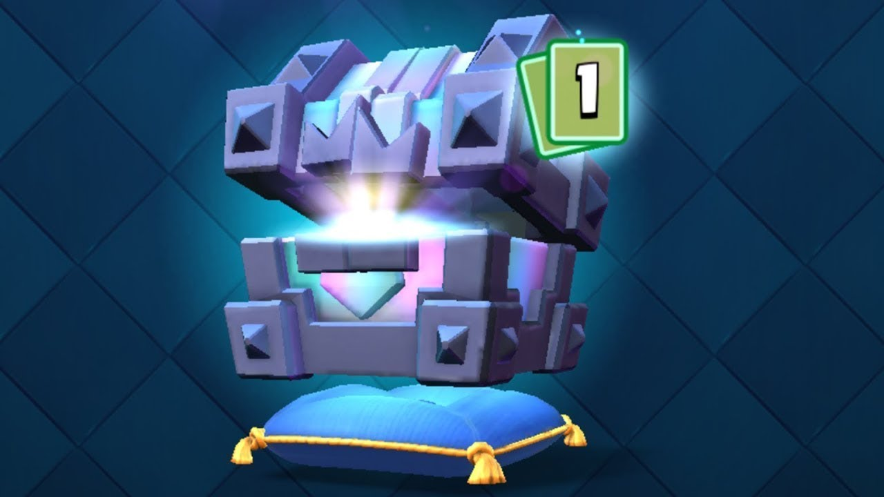 Opening Legendary King Chest | Clash Royale | KriT@N | KCS